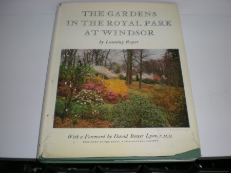 Lanning Roper: The gardens in the Royal Park at Windsor.