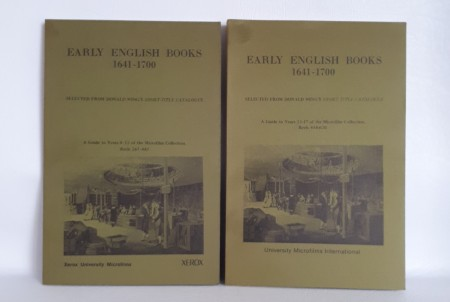 Early English Books 1641-1700.